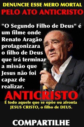 Outro protesto contra o novo filme de Renato Aragão