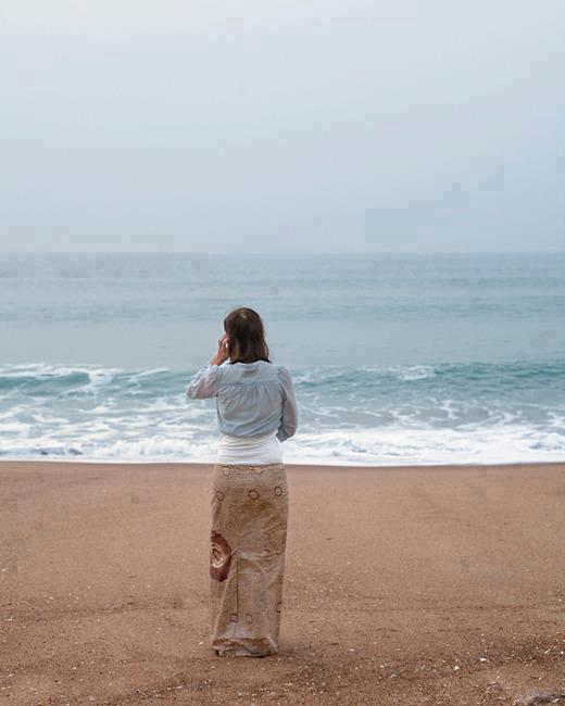 Camuflagem na praia! Montagem? (foto: reprodução Facebook)