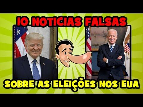 Analisamos 10 notícias falsas de fraude nas eleições de 2020 nos EUA!