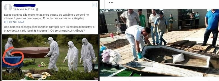 Governadores estão mandando enterrar caixões vazios?