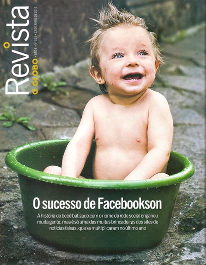 Capa da revista do Jornal O Globo - o E-farsas dá dicas sobre hoax!