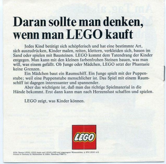 Carta semelhante enviada aos pais na Alemanha!