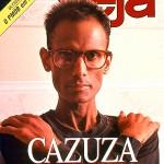 Capa da revista Veja mostrando o cantor Cazuza!