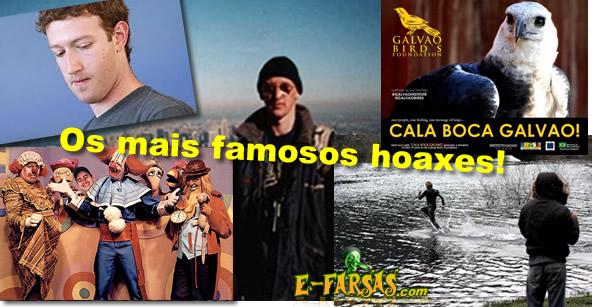Os mais famosos hoaxes!