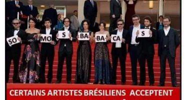 Capa do jornal Charlie Hebdo satiriza protesto brasileiro em Cannes! Será verdade?