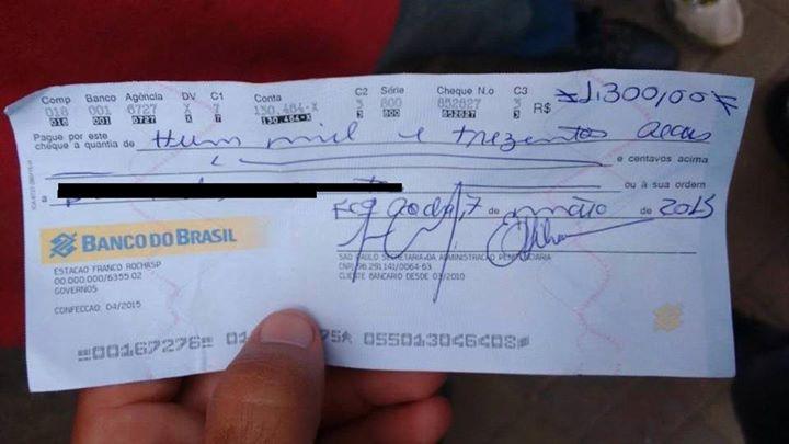 O Governo estaria pagando R$1.300 para todos os presos que ganharam o indulto do Dia das Mães! Será verdade? (foto: Reprodução/Facebook)