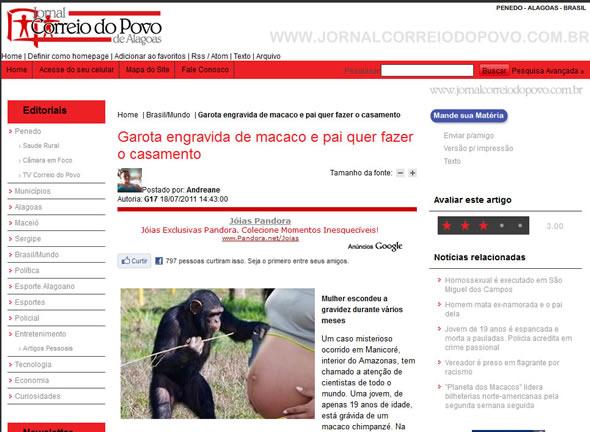 Jornal Correio do Povo - Alagoas