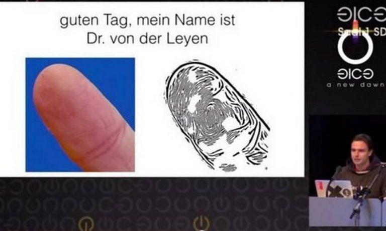 Hackers podem clonar impressões digitais apenas por fotos dos dedos das vítimas?