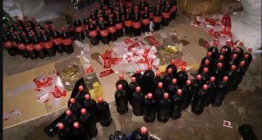 """Fábrica clandestina de refrigerante estaria fazendo """"coca-cola genérica"""" e distribuindo para Brasil Inteiro! Será verdade? (foto: Reprodução/Facebook)"""