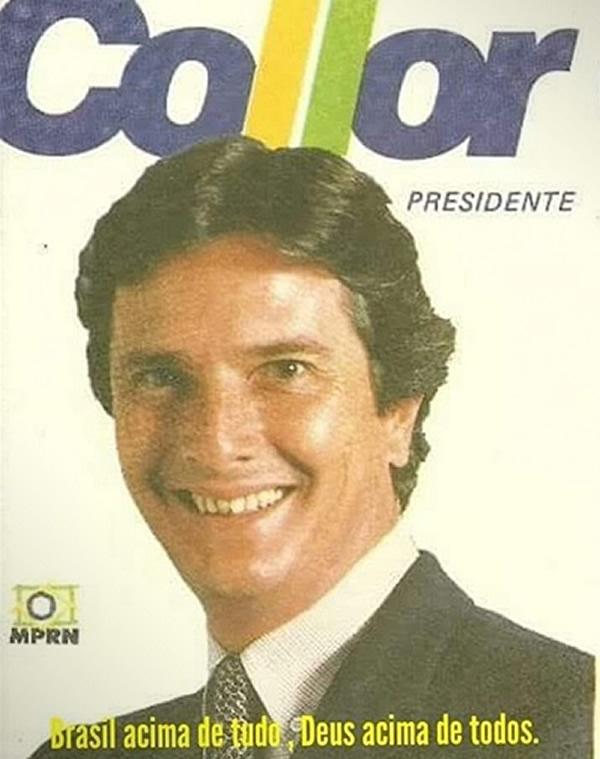 Bolsonaro copiou o slogan de campanha de Fernando Collor?