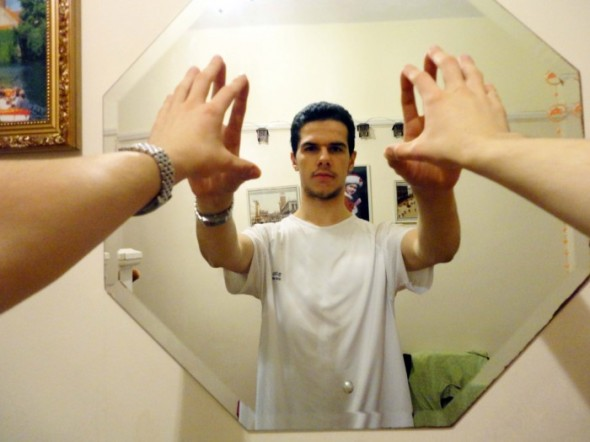 sciencetech article photoshop mirror trick photographer takes impossible self portrait camera