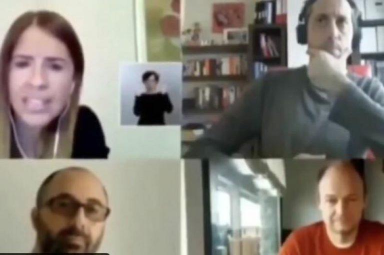 Foto cai durante videoconferência e revela homem bebendo cerveja em uma rede! Será verdade?