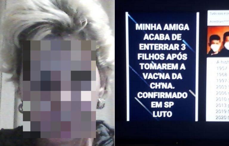 Três adolescentes morreram após serem vacinados contra a COVID-19 em São Paulo?