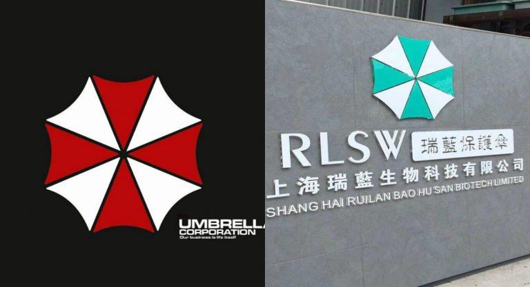 As empresas que estão estudando o coronavírus tem o logotipo da Umbrella Corporation?