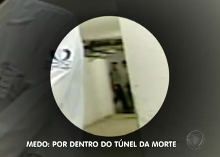 Fantasma no corredor da morte!