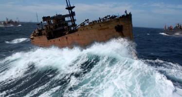 Navio SS Cotopaxi desaparecido há 90 anos reaparece no Triangulo das Bermudas! Será verdade? (foto: Reprodução/Facebook)