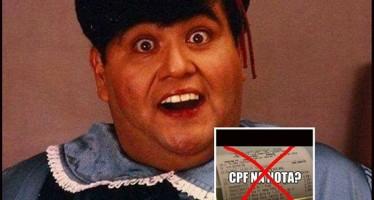 """""""CPF na nota? Diga não!"""", diz o alerta que circula pela web! Será verdade?"""