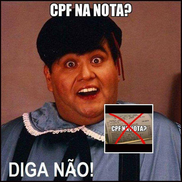 CPF na nota fiscal é pegadinha do Governo?