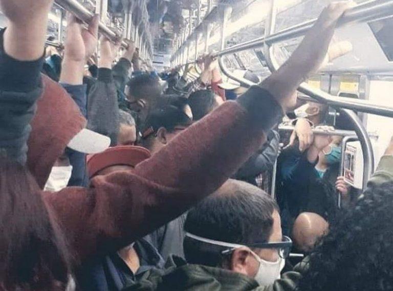 Foto mostra o Metrô de São Paulo após a implantação do megarrodízio?