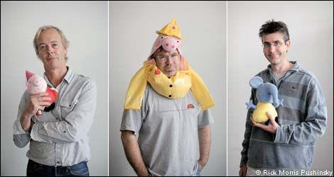 Criadores do desenho Peppa Pig inventaram p personagem em um pub! (foto: Divulgação)