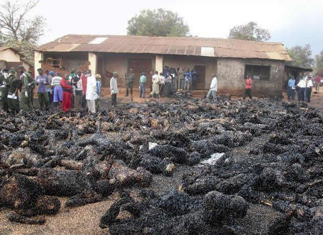 Cristãos seriam queimados por muçulmanos na Nigéria! Será verdade?