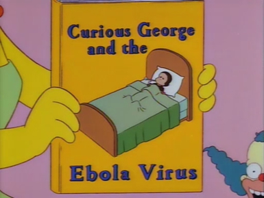 """Reprodução de uma cena do episódio """"O Sax de Lisa"""" de 1997!"""