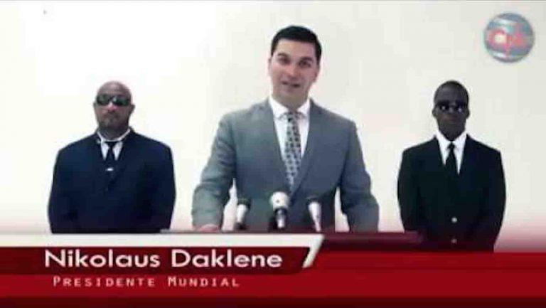Nikolaus Daklene é o novo presidente da Nova Ordem Mundial?