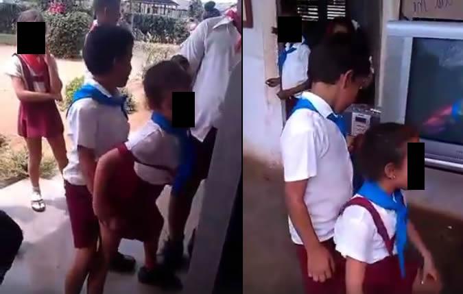 Crianças dançando funk de forma sensual em escola! Será verdade?