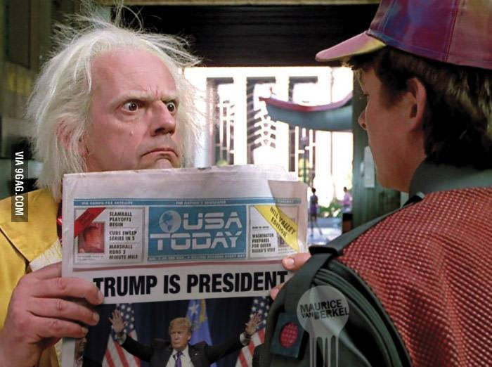 Trump é Presidente! Será que o filme de 1989 previu a vitória de Donald Trump?