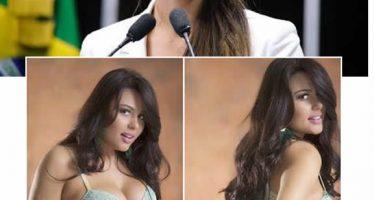 Fotos íntimas da Deputada Sheridan Oliveira vazaram no WhatsApp! Será verdade? (foto: Reprodução/Facebook)