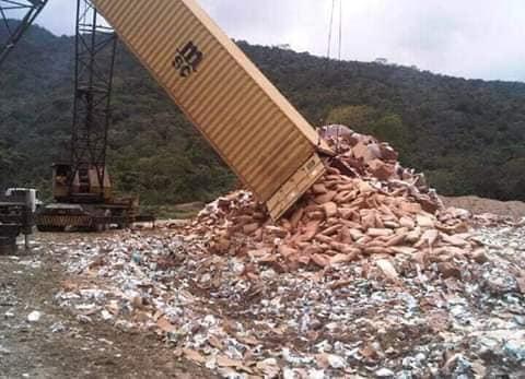 Nicolás Maduro jogou fora toneladas de alimentos de ajuda humanitária?