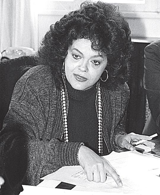 Dilma nos anos 1980! (foto: Reprodução)