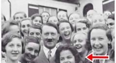 Dilma Rousseff aparece ao lado de Adolf Hitler! Será verdade? (foto: Reprodução/Facebook)