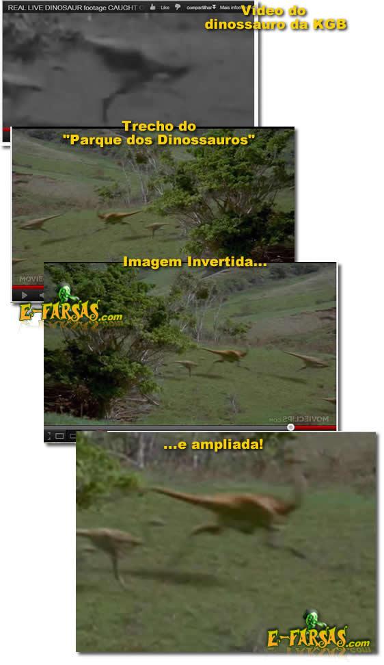 """Como fazer um vídeo """"antigo"""" de dinossauro!"""