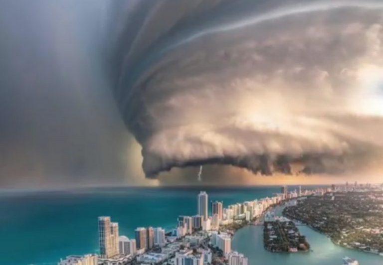 Vídeo mostra o furacão Dorian praticamente estacionado sobre as Bahamas?
