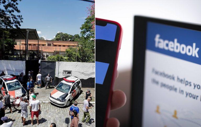 O Facebook, o WhatsApp e o Instagram foram bloqueados devido a tragédia na Escola Raul Brasil?