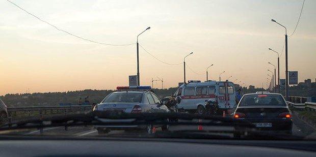 Policia no local do acidente!