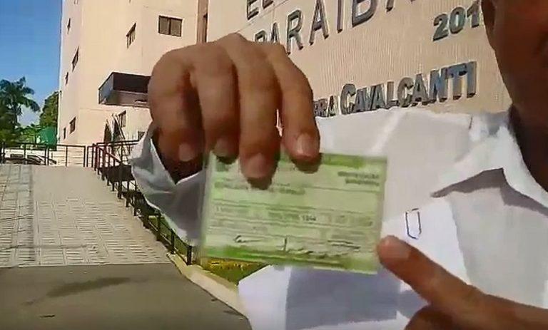 Ex-candidato a vereador de João Pessoa teve seus votos manipulados pelo TRE-PB?