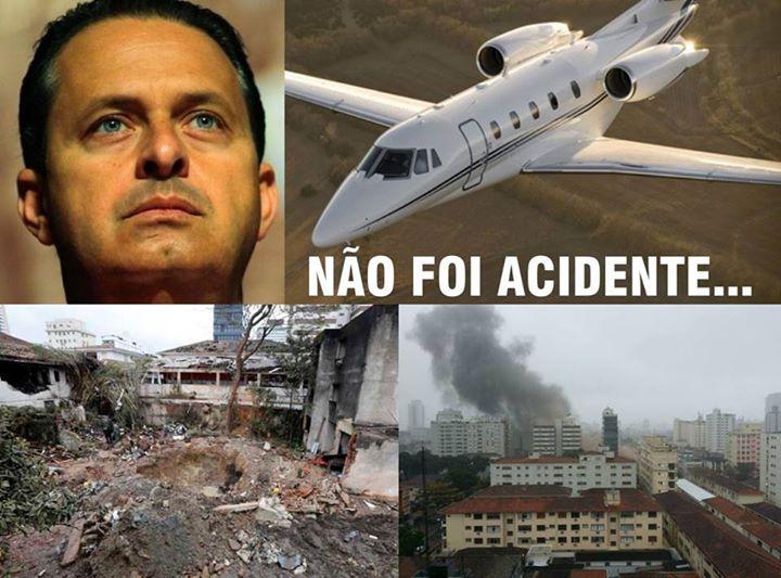 Coronel afirma que Eduardo Campos teria sido assassinado! Será verdade? (foto: Reprodução/Facebook)