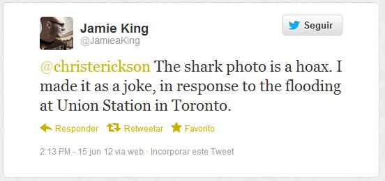 Reprodução do Twitter - Jamie King