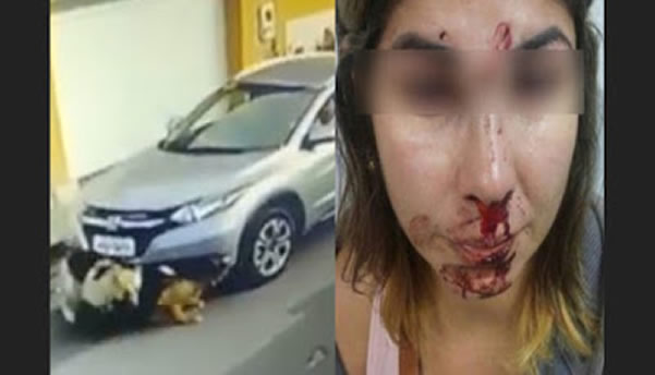 A enfermeira que atropelou cachorros em São Luís foi espancada pelos vizinhos?