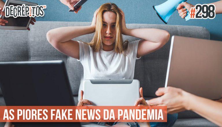Ouça a participação do @Efarsas no podcast Decrépitos sobre fake news na pandemia!
