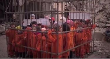 Estado Islâmico estaria preparando para queimar 25 crianças cristãs! Será verdade? (foto: Reprodução/Facebook)