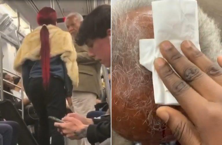 Transgênero agrediu idoso com estiletes no metrô de Nova York, nos EUA?