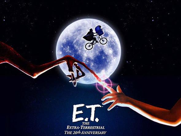"""Poster do filme """"E.T. - O Extraterrestre"""" - de 1982 (foto: Divulgação)"""