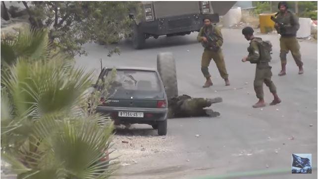 Soldados do Exército brasileiro perderam para um pneu durante um confronto na greve?