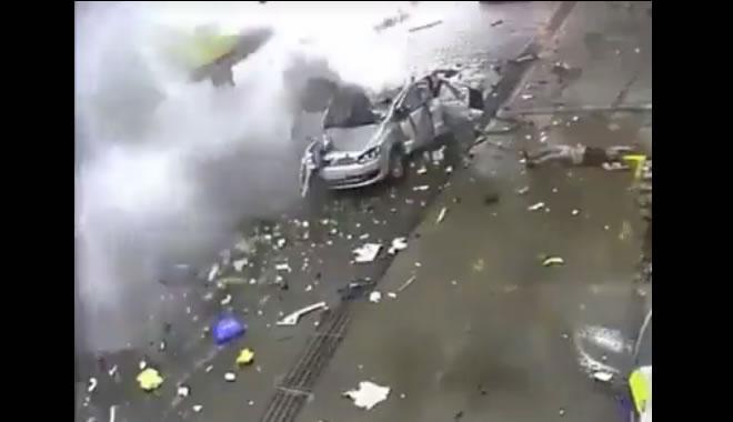 O uso de celular causou explosão em posto da gasolina?