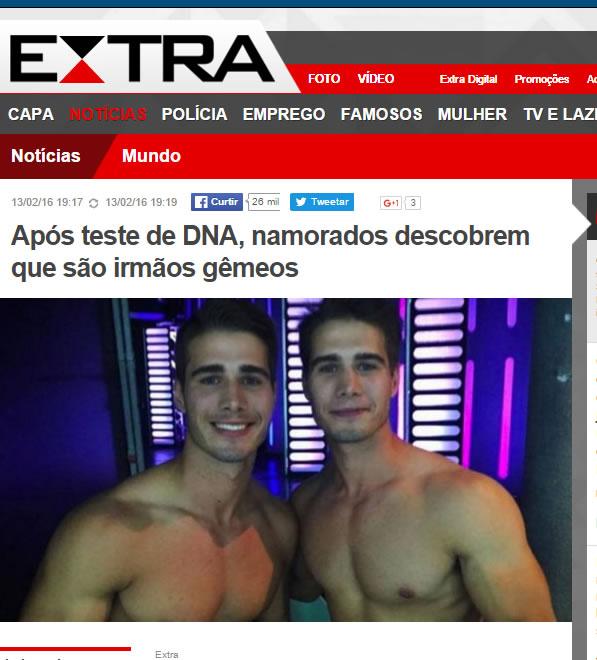 O jornal Extra caiu na pegadinha!