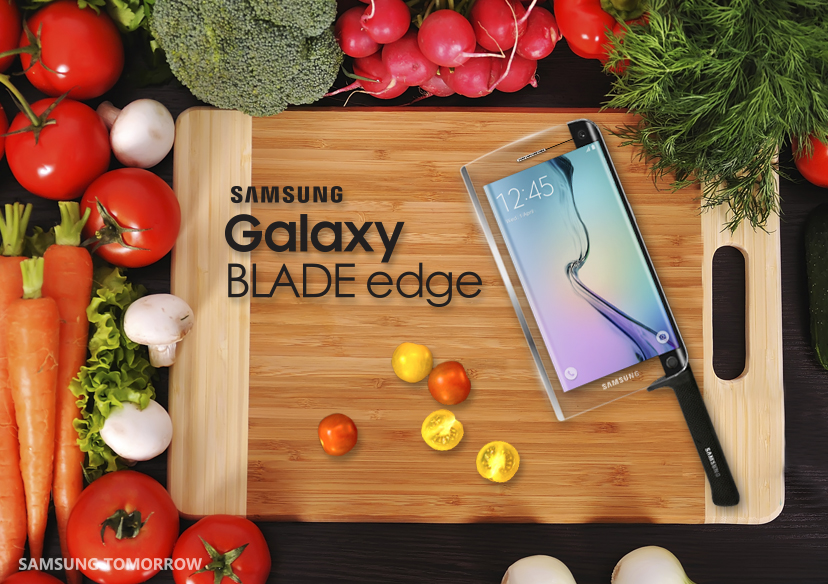 A Galaxy Blade Edge seria a primeira faca inteligente do mundo, se fosse verdade!