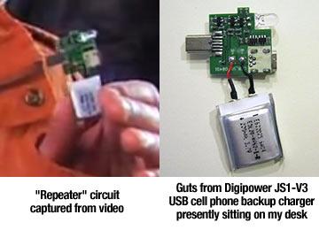 Transmissor usado no Iphone é na verdade um carregador de bateria!